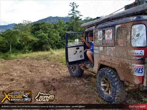 Media Car Recovery - Borneo Safari 2012