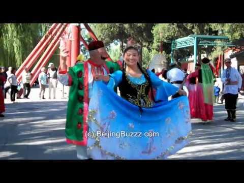 XinJiang Dance in Beihai Park