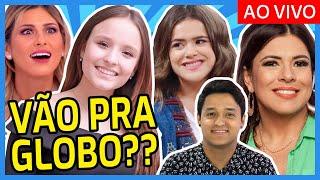 🔥💣 TRETA no SBT entre MARA e LIVIA; MAISA e LARISSA MANOELA fora do SBT em 2019 e + Deu na TV 📺