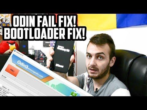Galaxy S8/S8+ Odin FAIL. BOOTLOOP. BOOTLOADER FIX!