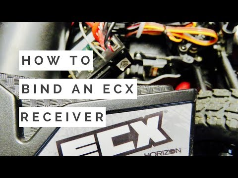How To Bind An ECX Receiver And Transmitter - Driftomaniacs