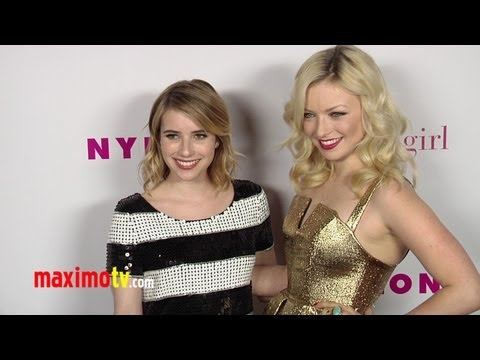 NYLON Magazine Young Hollywood Party ARRIVALS Halston Sage, Claire Holt, Emma Roberts