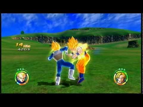Dragonball raging blast 2 ssj vegeta 84 hit combo