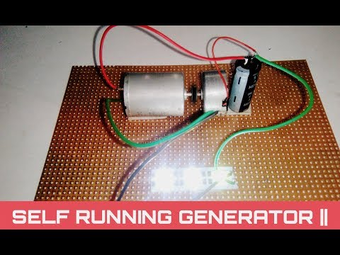 Free energy light bulb | self running generator using capacitor thumbnail