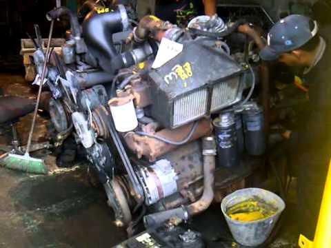 Probando Motor Mack 676 Plc