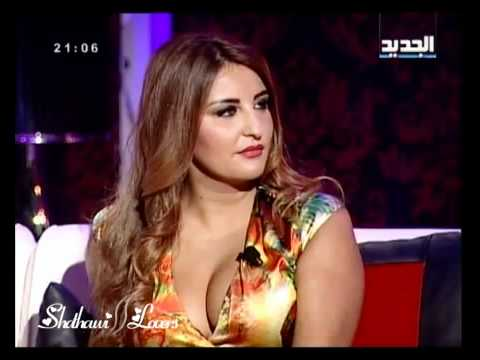 Iraqi singer Shatha Hassoun in Lebanese program part 1