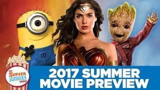 Guardians vs. Minions! Top 10 Summer Movies 2017!