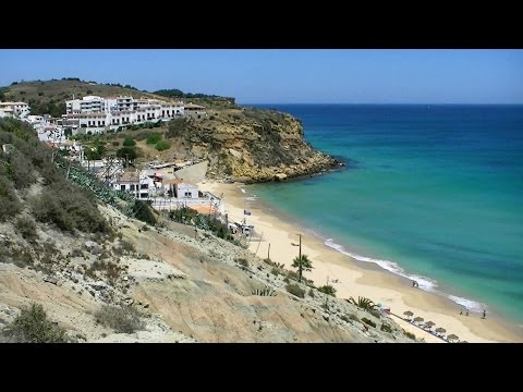Praia Burgau Vila do Bispo Algarve Portugal (HD)