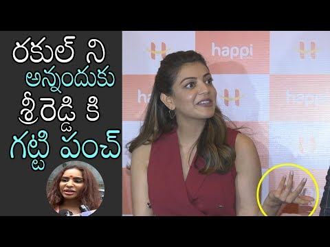 Kajal SUPER PUNCH On Sri Reddy | Happi Mobile Store Launch | Warangal | Daily Culture