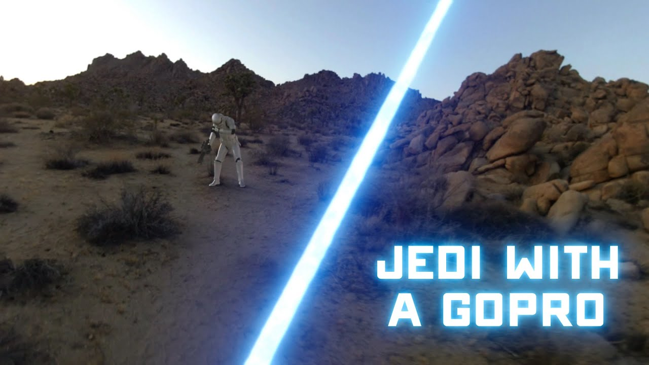 And Now Here Is A Jedi With A GoPro
