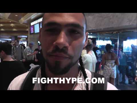 KEITH THURMAN ASSESSES TKO VICTORY OVER JULIO DIAZ I FEEL HAPPYI CALL MYSELF THE TRUTH