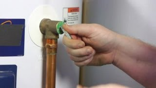 How to Get Air Out of the Lines for the Hot Water Heater : Water Heaters