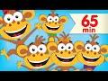 Lagu Five Little Monkeys | + More Super Simple Songs & Nursery Rhymes