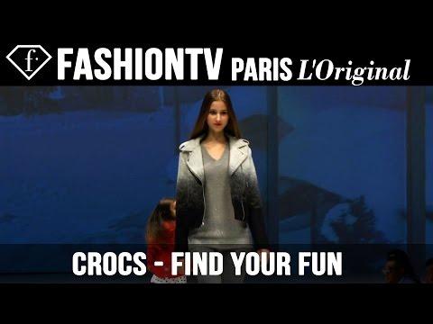Crocs Fall/Winter 2014-15: Find Your Fun | FashionTV