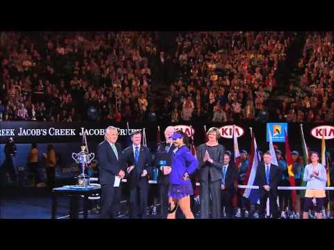 Azarenka & Li Na Speeches - Australian Open 2013