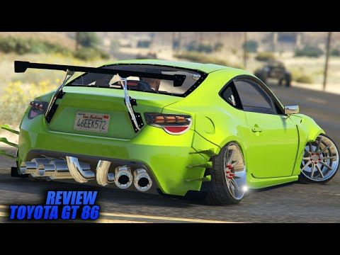 Review Toyota GT86 Turbo 2017 Gta 5 Supercar