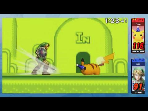Super Smash Bros 3DS - Pikachu (1v1 For Glory)