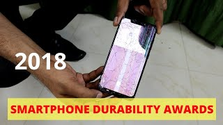[हिंदी] Smartphone Durability Awards & Comparison 2018 ! 🙏 HAPPY NEW YEAR 2019 🙏