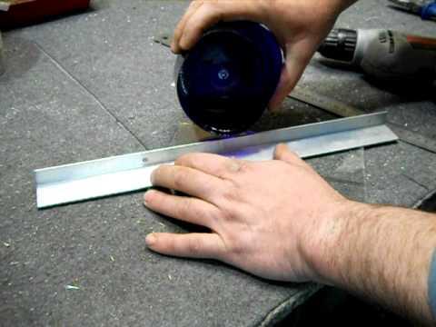 Как в зеркале можно сделать отверстие