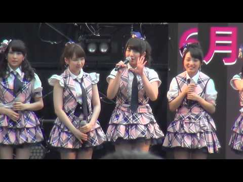 AKB48 大阪フリーライブ MC(メンバー紹介) 2015/06/20