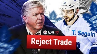 WHAT IF BRIAN BURKE NEVER MADE A TRADE AS LEAFS GM? - NHL 17