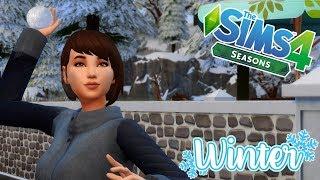 SNOW FUN! || The Sims 4 || Seasons (Part 17) - Winter!