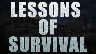 Lessons of Survival - Episode 1 - Make a friend (Minecraft Machinima)