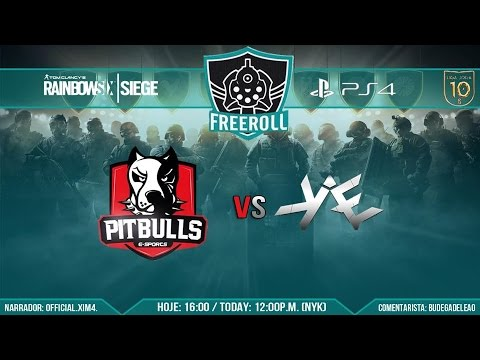 |FreeRoll Diamante| Semi Final - sKAE Gaming vs Pitbulls E-Sports |