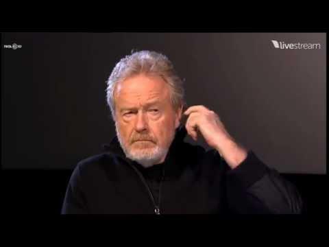 AvPGalaxy.net - AMC Prometheus Q&A With Ridley Scott And Damon Lindelof