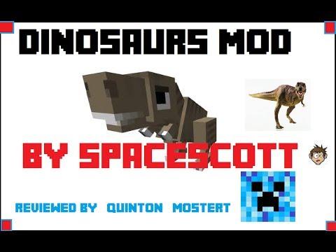 Dino mod Minecraft Pocket (0.8.1) review with scott