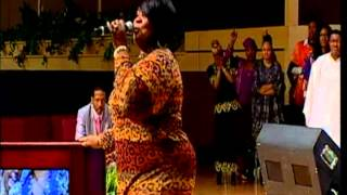 "Kim McFarland sings, ""For the Good of Them"" at Salem Baptist Church of Chicago"