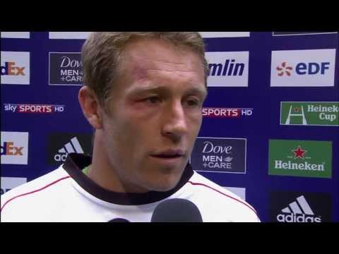 Jonny Wilkinson Heineken Cup after Toulon 26 to 12 victory over Saracens