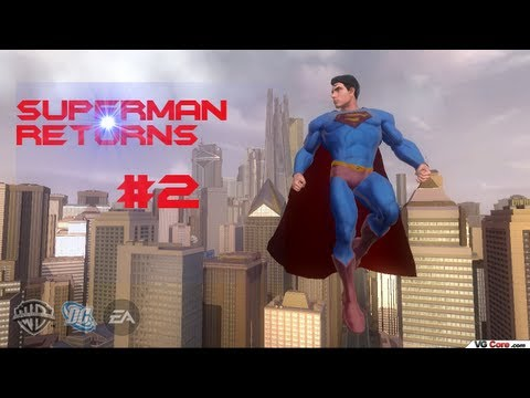 Let's Play Superman Returns (Blind) Part 2- Awesome Arena Battle!