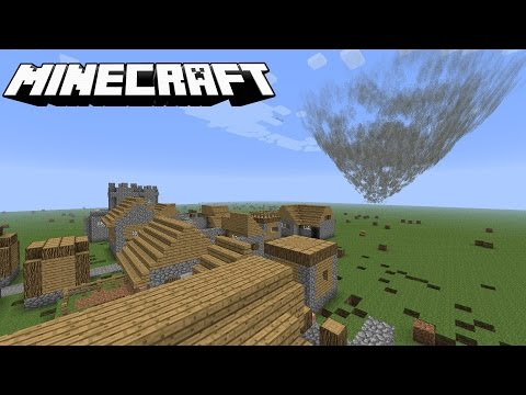 Minecraft Tornado Challenge #4 (Village)