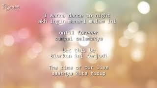 Lirik lagu dan Artinya Dance Tonight Bunga Citra Lestari ft J Flow