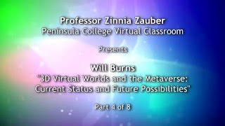 Virtual Reality Discussed During Real Virtual Class Part 4