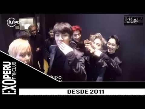 [SUB ESPAÑOL] 16/06/16 - EXO @ Monster Backstage - No.1 EXO CONGRATULATIONS!