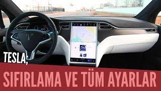Tesla Sıfırlama ve Tüm Ayarlar