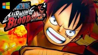 วิธีโหลดเกมส์ One Piece Burning Blood [Game Windows]