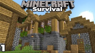 Building with fWhip S2 : A NEW START #1 Minecraft 1.14 Survival Let's Play