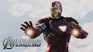 The Avengers - Loki's visit to Stark Tower HD