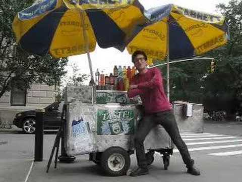 the hot dog vendor of nyc Video