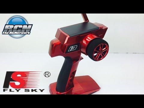 FlySky RED i3 2.4ghz Radio System