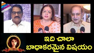 Krishna, Vijaya Nirmala and Ashwini Dutt about Sridevi's Demise | #RIPSridevi | Telugu FilmNagar