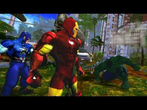 Street Fighter X Tekken - Iron Man x Captain America VS HULK x War Machine [1080p] TRUE-HD QUALITY