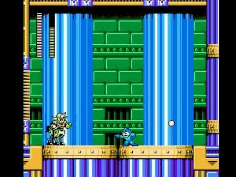 Mega Man 6 - Centaur Man Stage Perfect Run (No Weapons)