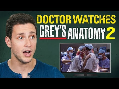 "Real Doctor Reacts to GREY'S ANATOMY #2 | ""Into You Like A Train"""