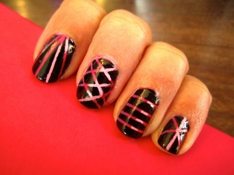 Edgy Valentine's Day Nails