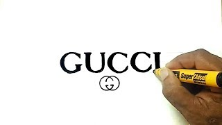 How to Draw the Gucci Logo