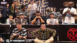 Popping Best16-1 Ringo Winbee vs Popping ED | 160229 OBS Vol.10 Day2